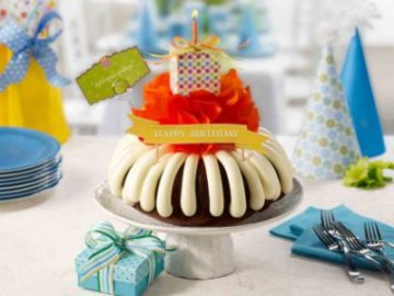 "Win a $100 Gift Card to ""Nothing Bundt Cakes"""