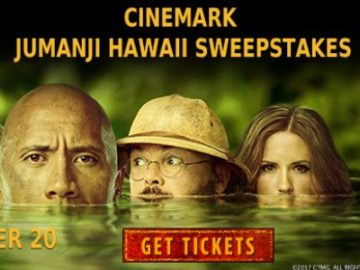 Jumanji: Welcome to the Jungle Getaway to Hawaii Sweepstakes