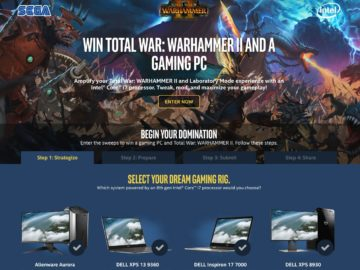 Intel & SEGA Total War Sweepstakes