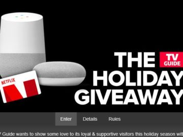 TV Guide Holiday Giveaway Sweepstakes