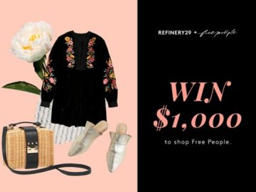 Win a $1,000 from Free People