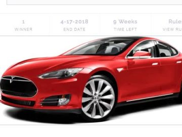 Happy Tax Service Tesla Tax Season Giveaway Sweepstakes