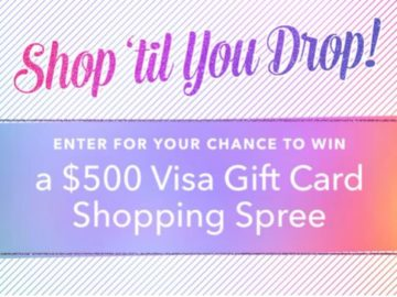 PromGirl Shop 'Til You Drop! Sweepstakes