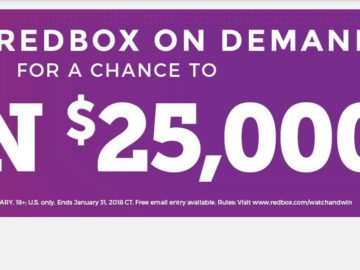 Redbox Watch & Win Sweepstakes