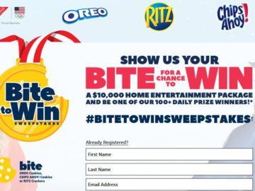 Nabisco #BiteToWin Sweepstakes