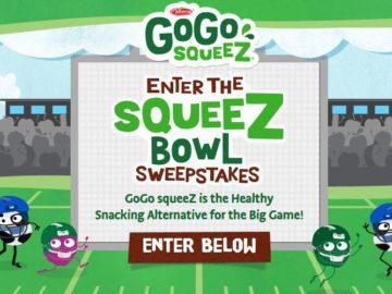 GoGo squeeZ Sweepstakes