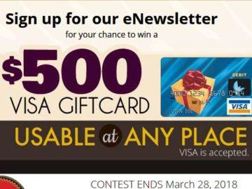 win a 500 visa gift card - 500 Visa Gift Card