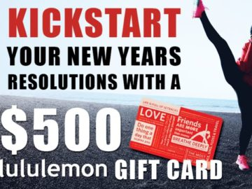 SmartStop Self Storage Lululemon Giveaway Sweepstakes
