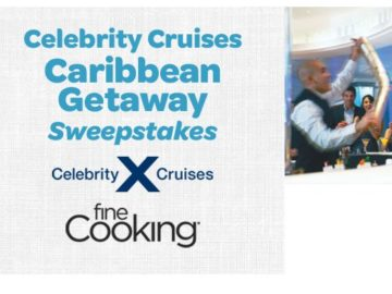 Celebrity Cruises Caribbean Getaway Sweepstakes
