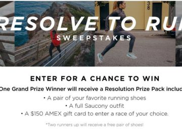 Saucony Resolution Sweepstakes