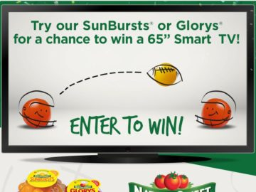 "NatureSweet ""Snacking for the Big Game"" Sweepstakes"