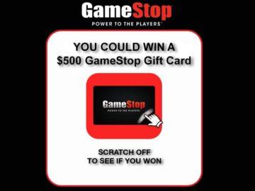 GameStop PowerUp Rewards Instant Win Game