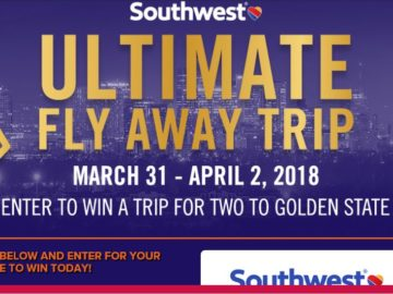 Southwest Airlines Ultimate Fly Away Trip Sweepstakes
