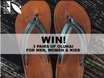 Win Three Pairs of Olukai Sandals