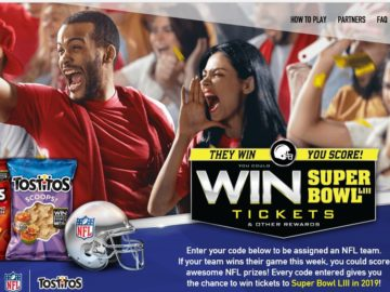 Doritos They Win Your Score Sweepstakes and Instant Win Game