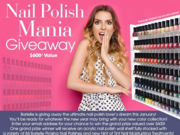 Barielle's Nail Polish Mania Giveaway Sweepstakes