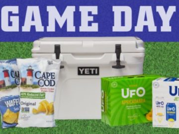 "UFO Beers & Cape Cod Potato Chips ""Big Game"" Sweepstakes"