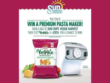 SUNCHIPS Veggie Harvest Tomato Basil & Cheese Sweepstakes