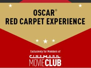 Cinemark Red Carpet Experience Sweepstakes