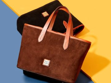 Win a Dooney & Bourke Suede Collection Bag