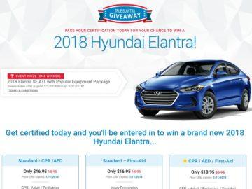 Win a 2018 Hyundai Elantra!