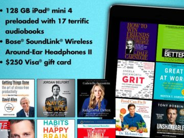 Simon & Schuster NEW YEAR NEW YOU 2018 Audiobook Sweepstakes – Facebook