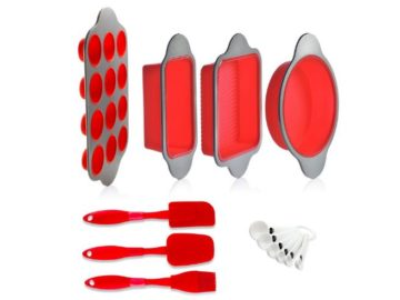 INSTANTLY WIN a Silicone Baking Molds, Pans and Utensils