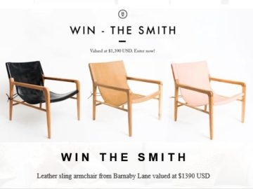 Barnaby Lane Smith Chair Sweepstakes