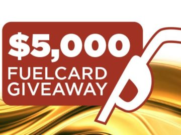 Lazydays RV Fuel Card Sweepstakes