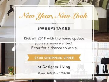 Win a $500 Designer Living Gift Card