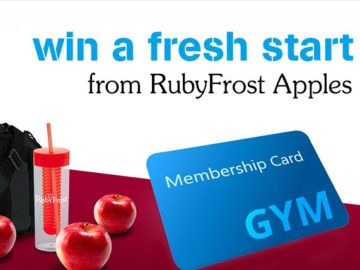 Win a 1 Year Gym Membership!