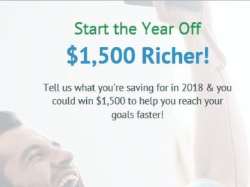 Go Banking Rates Start the New Year Off Richer! Sweepstakes