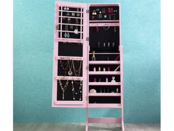 Win a Cloud Mountain Mirrored Jewelry Cabinet