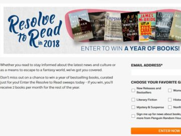 Win a Year of Books