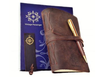INSTANTLY WIN a Leather Journal Set