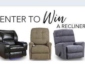 Nebraska Furniture Mart Recliner Sweepstakes