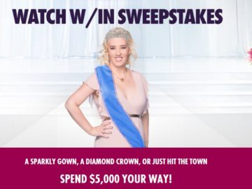 WE tv Mama June Watch W/In Sweepstakes