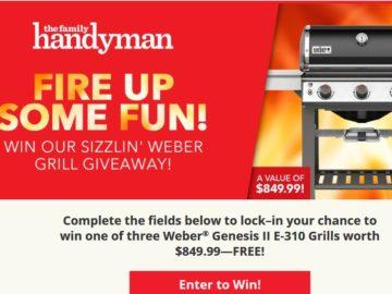 Win a Weber-Genesis-II-E-310 grill