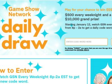 "Game Show Network ""Daily Draw"" Sweepstakes"