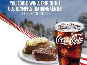 Go for the Gold with Coca-Cola at Golden Corral Sweepstakes