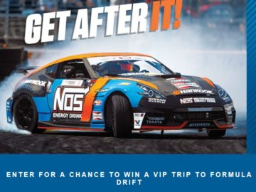 NOS Energy Drink Formula Drift Sweepstakes
