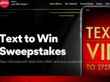 AMC Winter 2018 – SMS 100 Reasons Sweepstakes