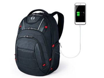 INSTANTLY WIN a Sosoon Laptop Backpack with USB Charging Port