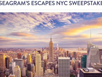 Seagram's Escapes Indulge in NYC with Kathy Wakile Sweepstakes