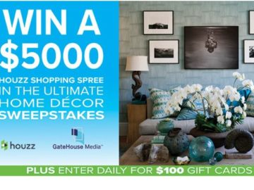 Win a $5,000 Houzz Shopping Spree