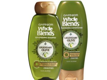 Free sample of Garnier Whole Blends