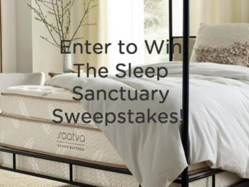 Win a Saatva Eco-Friendly Luxury Mattress