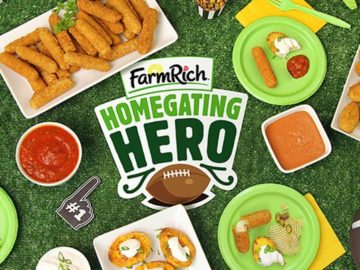 Farm Rich Homegating Hero Giveaway Sweepstakes – Facebook