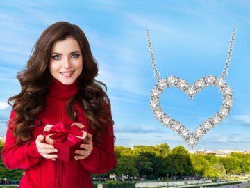 Win a Diamond Heart Pendant