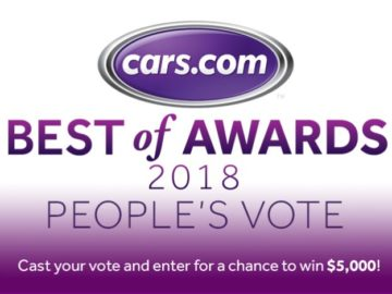 2018 People's Vote Award Sweepstakes